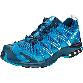 Salomon XA Pro 3D Shoes Herre mykonos blue/reflecting pond/white
